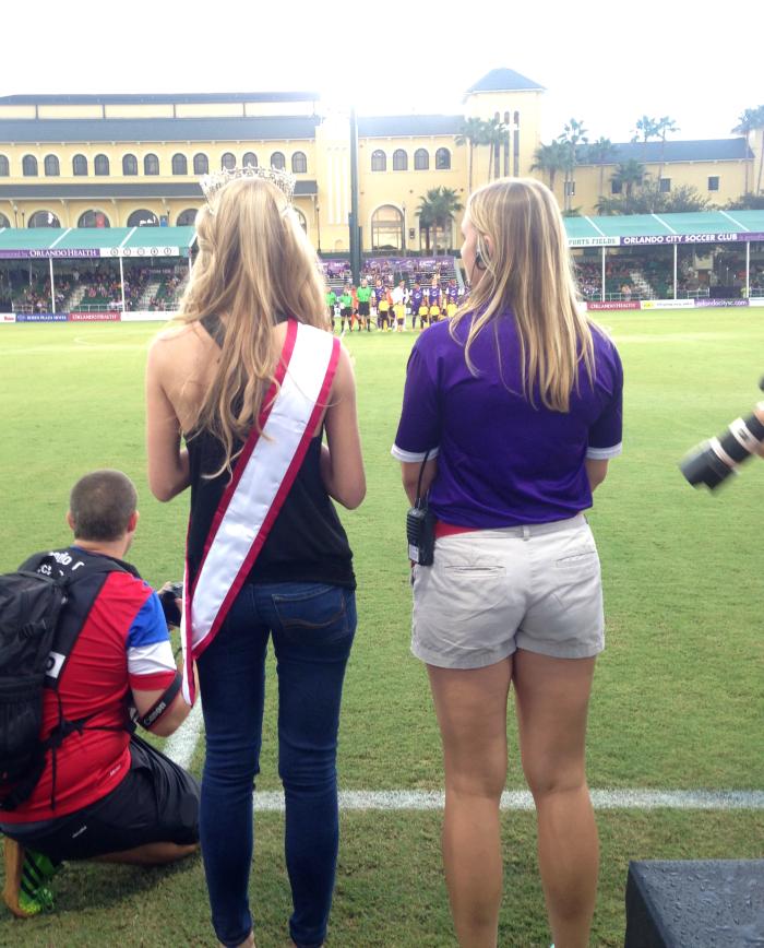 Orlando City Soccer, Miss Tampa Bay USA, Miss Florida USA, ESPN Wide World of Sports
