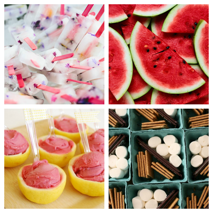 Creative Pool Party Snacks