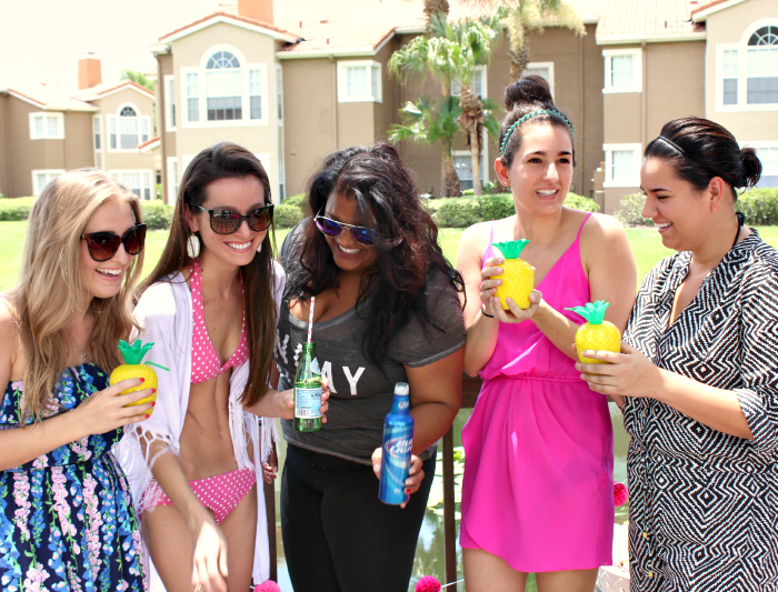 Cute summer pool party ideas from my annual pool party