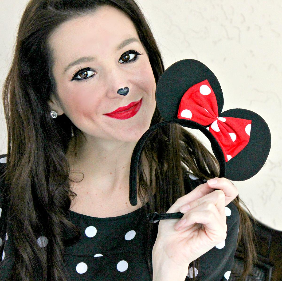 Neutrogena, Halloween Makeup, Minnie Mouse Makeup, Stephanie Ziajka, Diary of a Debutante