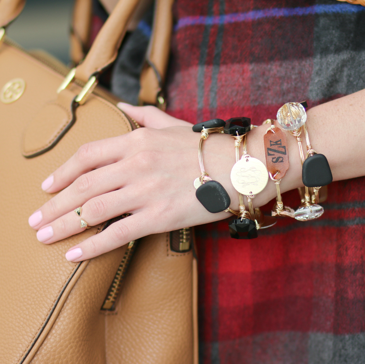 How to wear a plaid poncho wrap in the fall by fashion blogger Stephanie Ziajka from Diary of a Debutante
