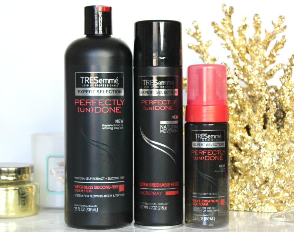 TRESemme, TRESemme Perfectly Undone, New Look, Holiday Beauty, Stephanie Ziajka, Diary of a Debutante