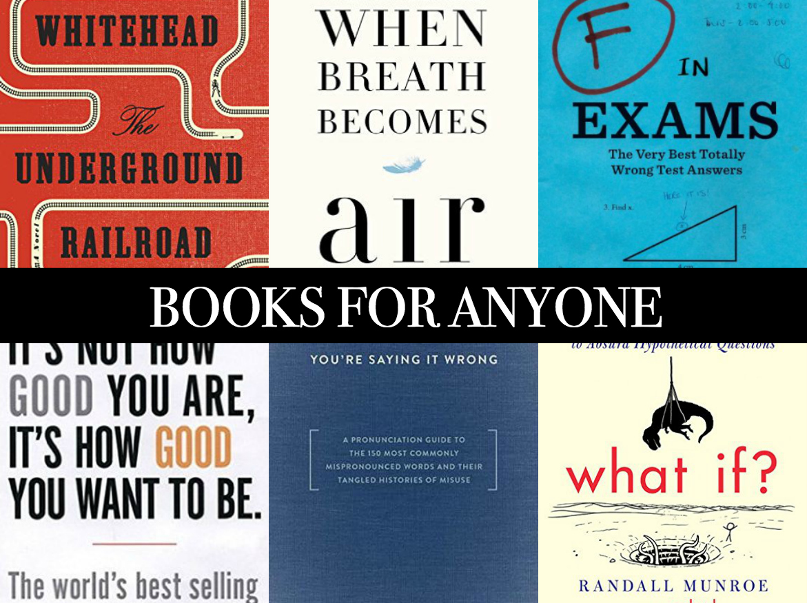 A collection of the best books to give as gifts for 2016