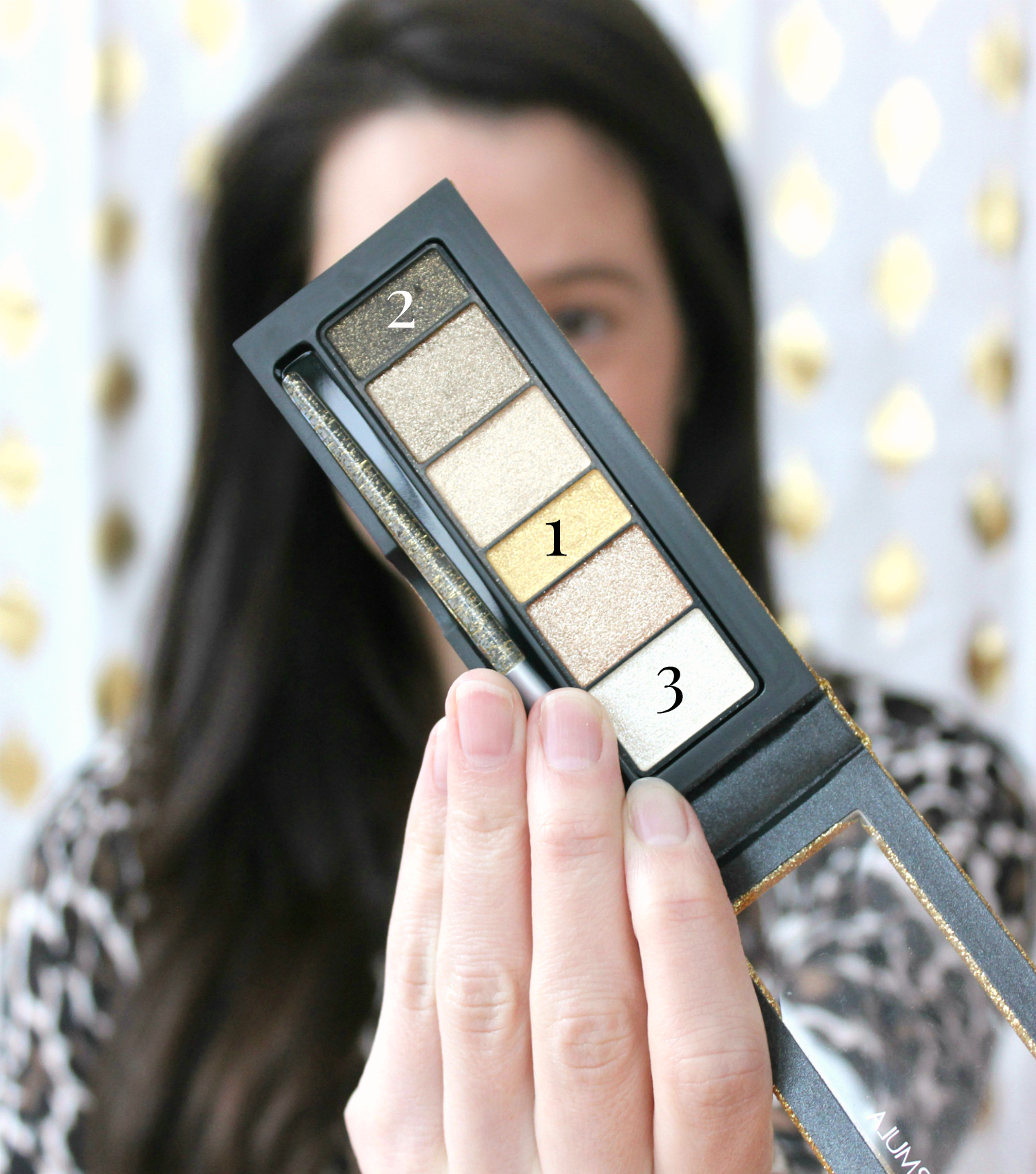 A fun and simple New Year's Eve drugstore eye makeup tutorial