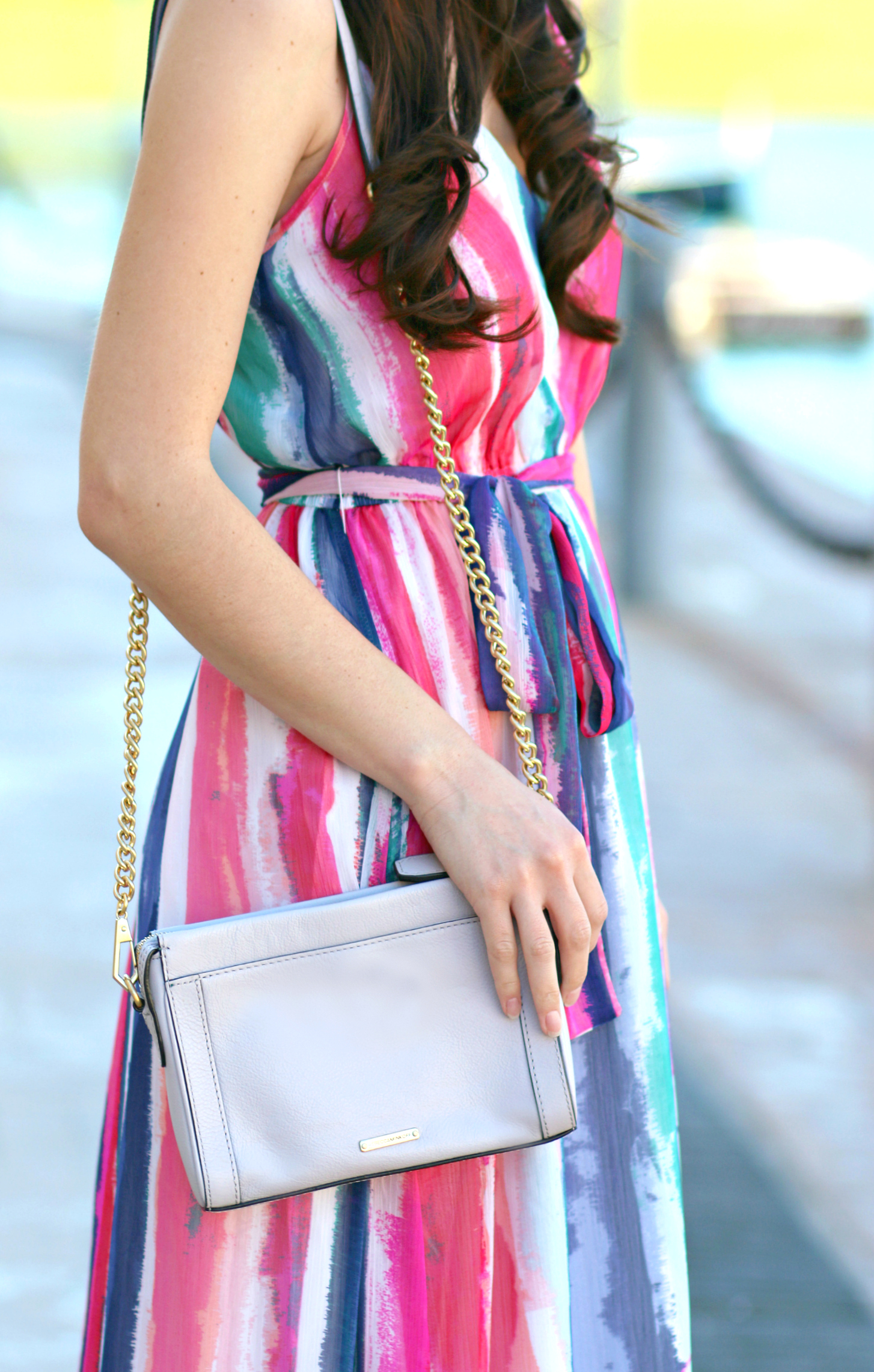 The perfect colorful maxi dress for spring from BB Dakota