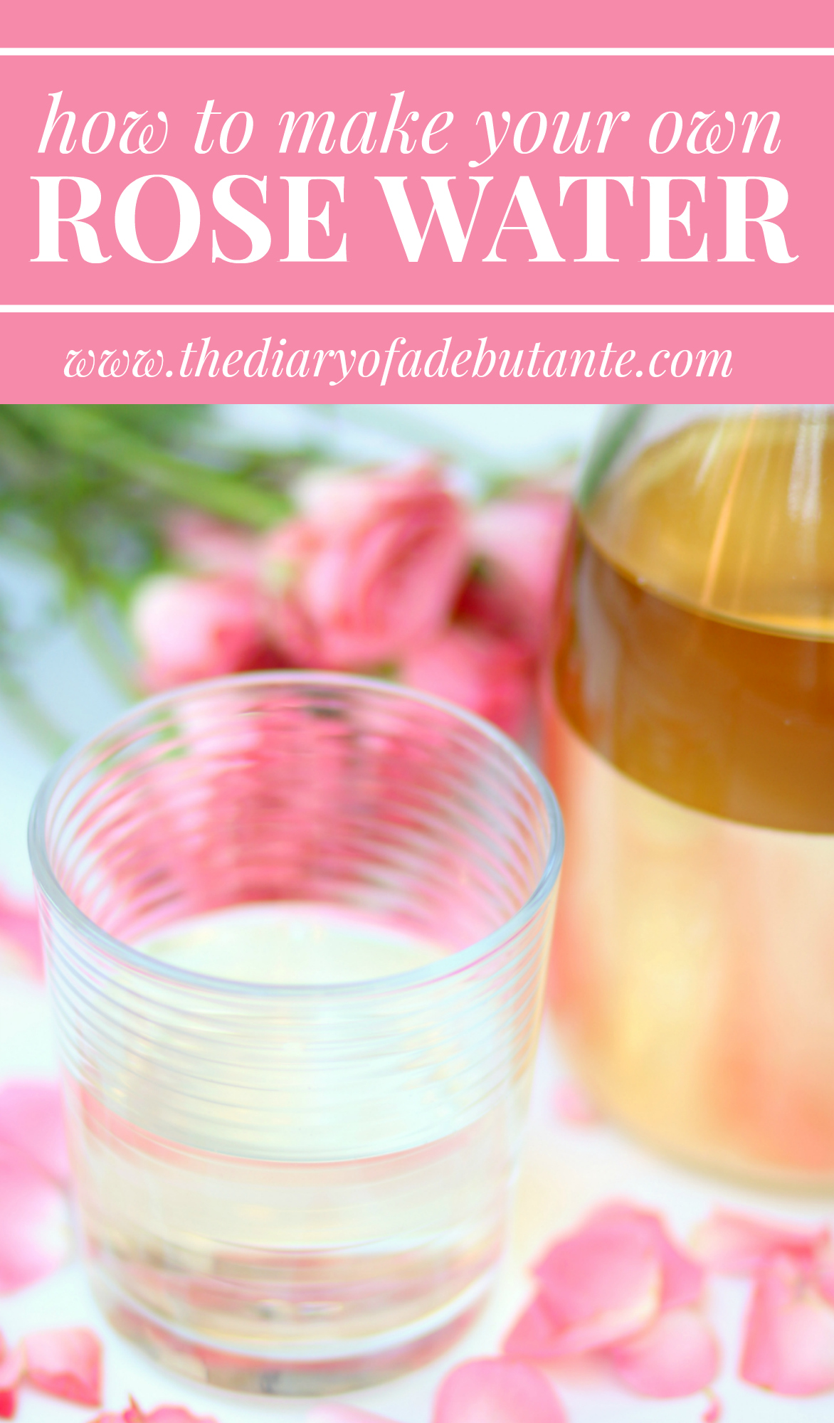 How to make rose water at home with fresh rose petals