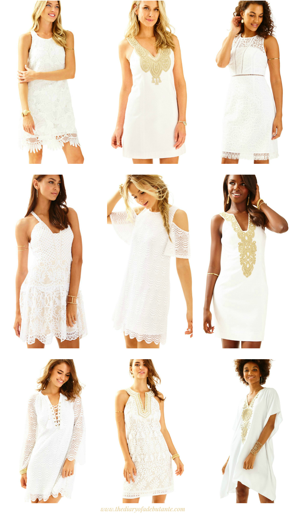 892f532ea4c Cute Little White Dresses for Spring from Lilly Pulitzer