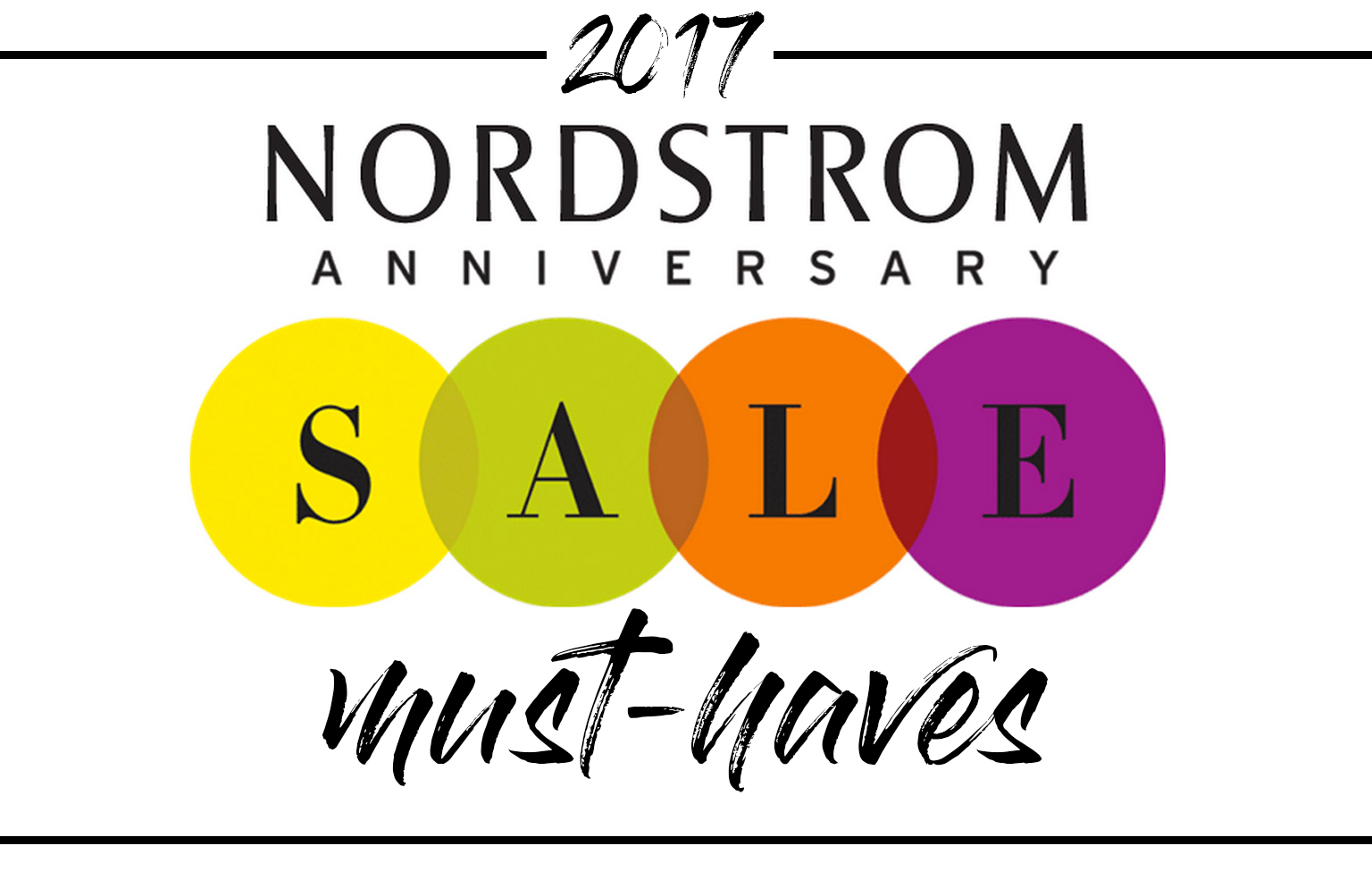 The top 50 Nordstrom Anniversary Sale 2017 picks that will sell out fast