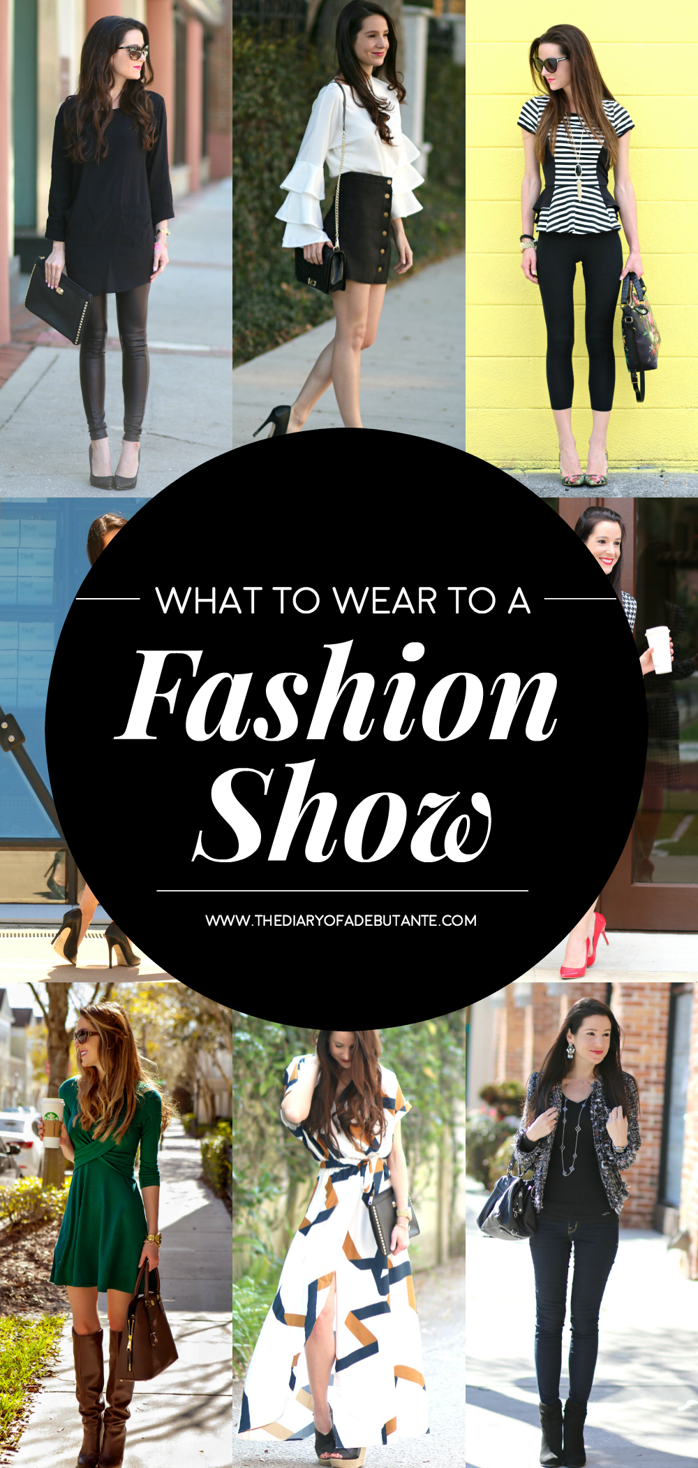 Heading to NYFW this September? If you're not sure what to wear to a fashion show, check out these helpful styling tips (including 10 outfit ideas that anybody can wear) by fashion blogger Stephanie Ziajka from Diary of a Debutante