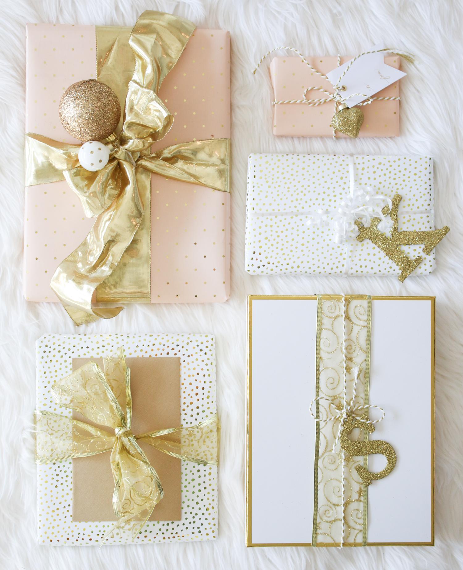 Elegant Holiday Gift Wrap Ideas Diary Of A Debutante