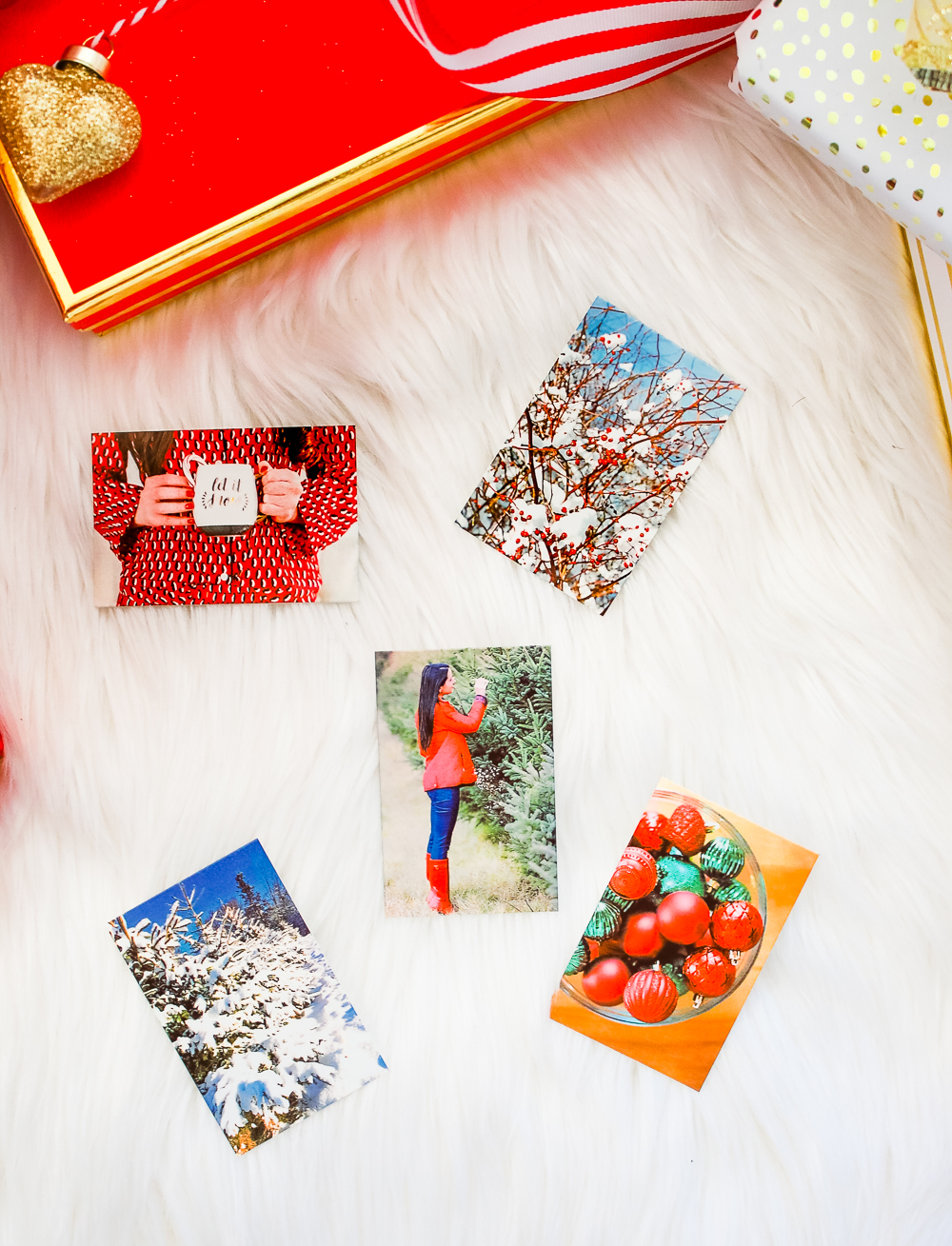 Red HP Sprocket Photo Printer, which makes a perfect stocking stuffer and is the best instant photo printer for events and travel by southern blogger Stephanie Ziajka from Diary of a Debutante