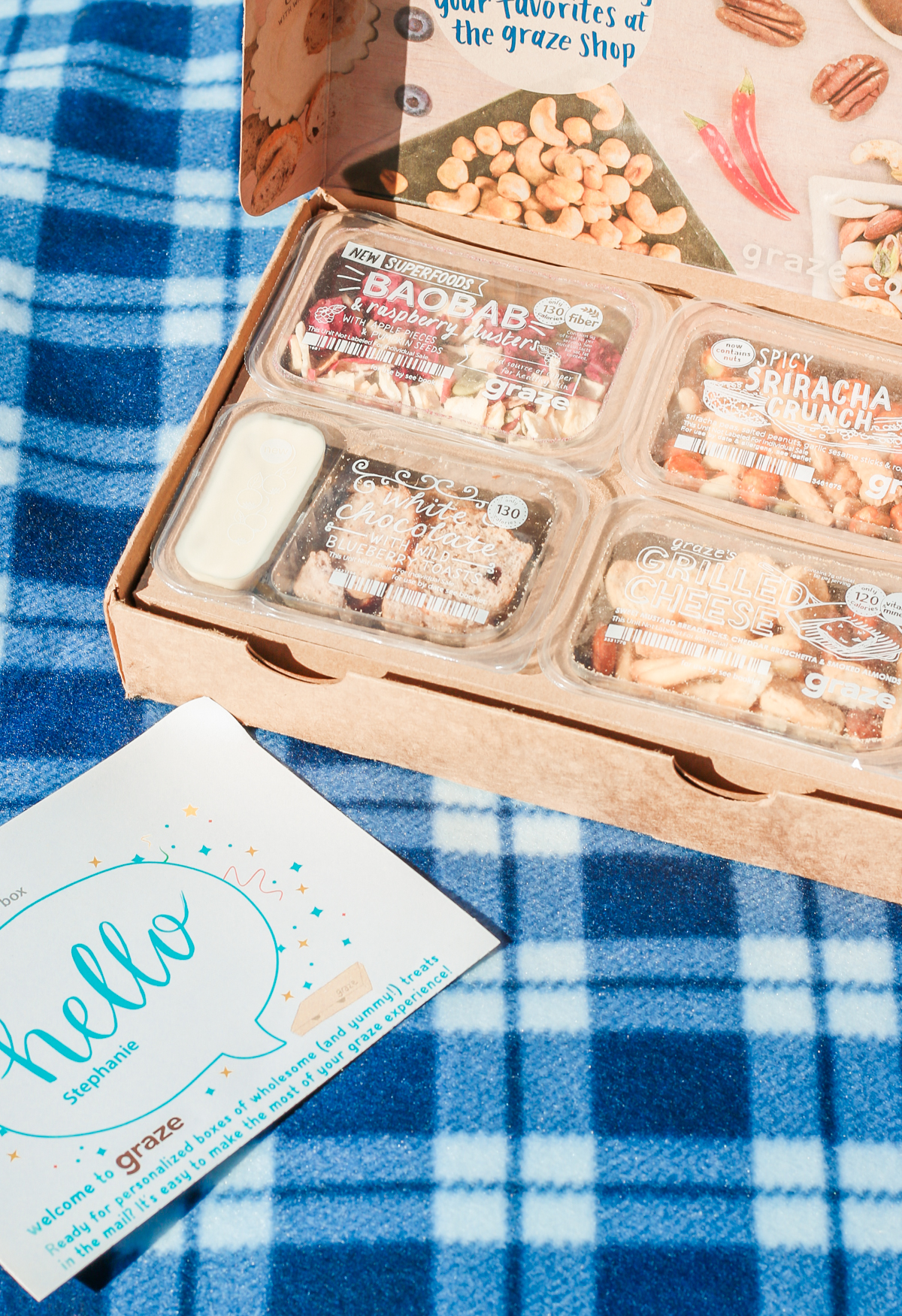 Graze snack box review, Graze monthly snack delivery service review, Graze snack packs, how to get a free Graze snack box, healthy snack boxes from Graze, Grazing Made Easy: The New Way to Snack Smarter by southern lifestyle blogger Stephanie Ziajka from Diary of a Debutante