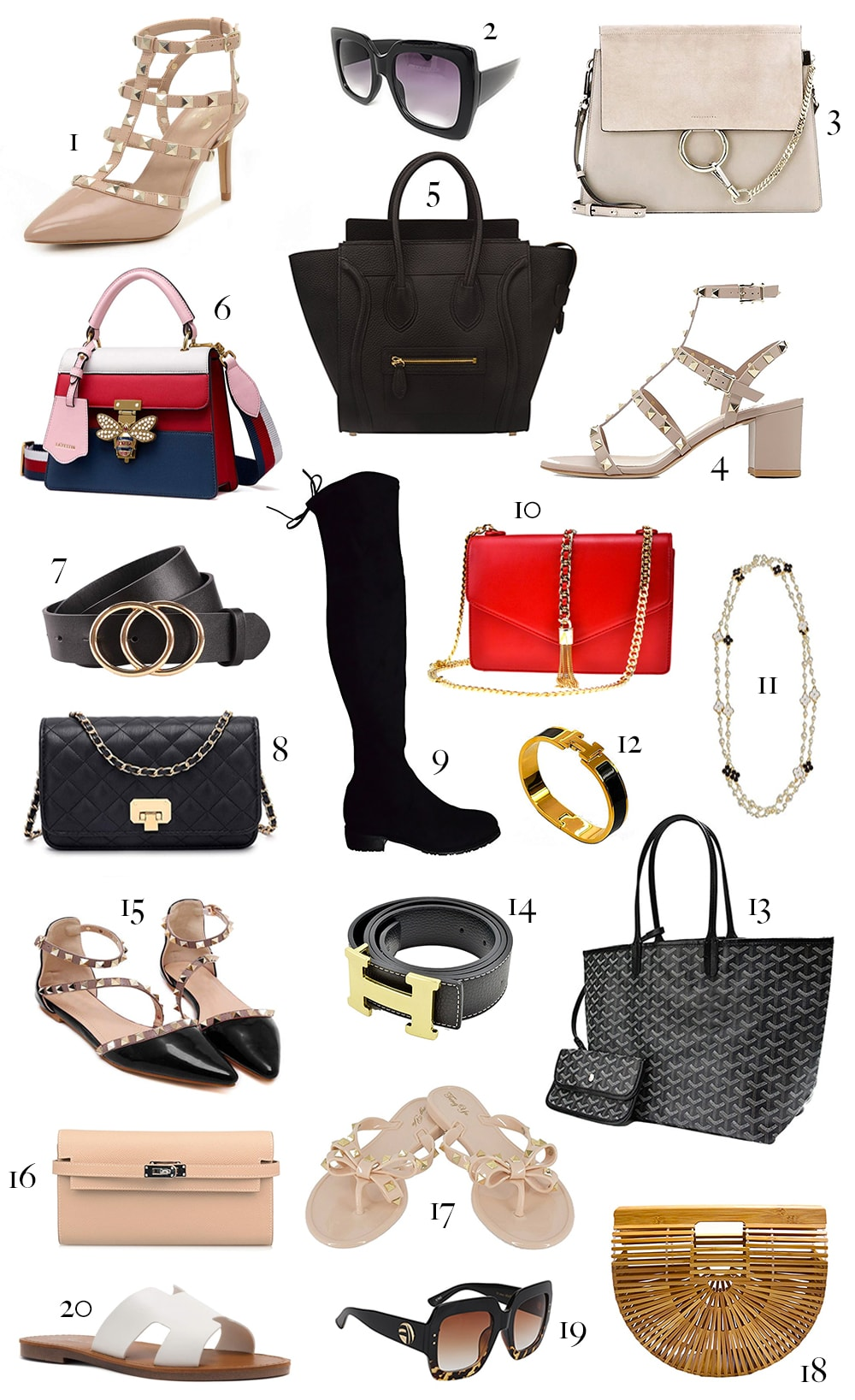 Best designer dupes on Amazon rounded up by affordable fashion blogger Stephanie Ziajka on diary of a Debutante