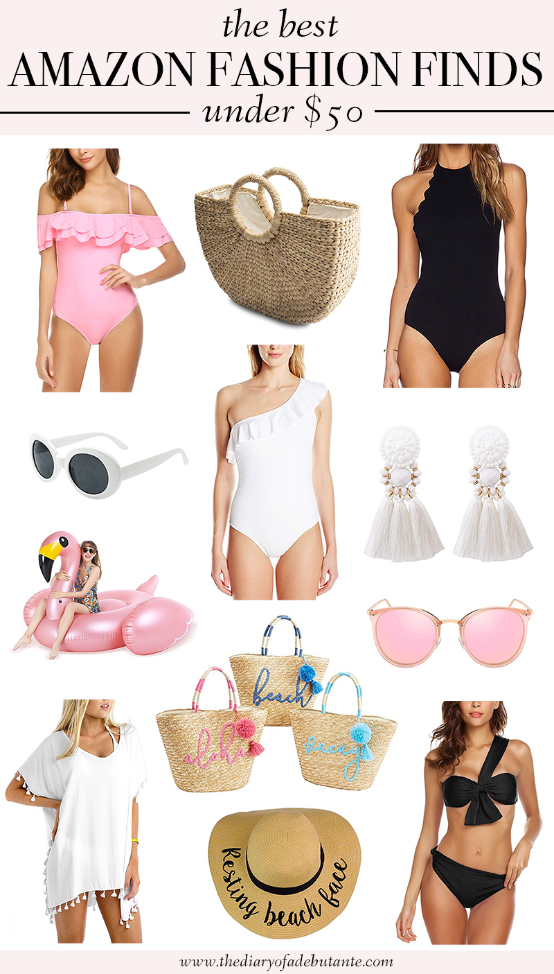 Best Amazon Fashion Finds for Summer under $50 by southern fashion blogger Stephanie Ziajka from Diary of a Debutante, best amazon fashion finds under 50