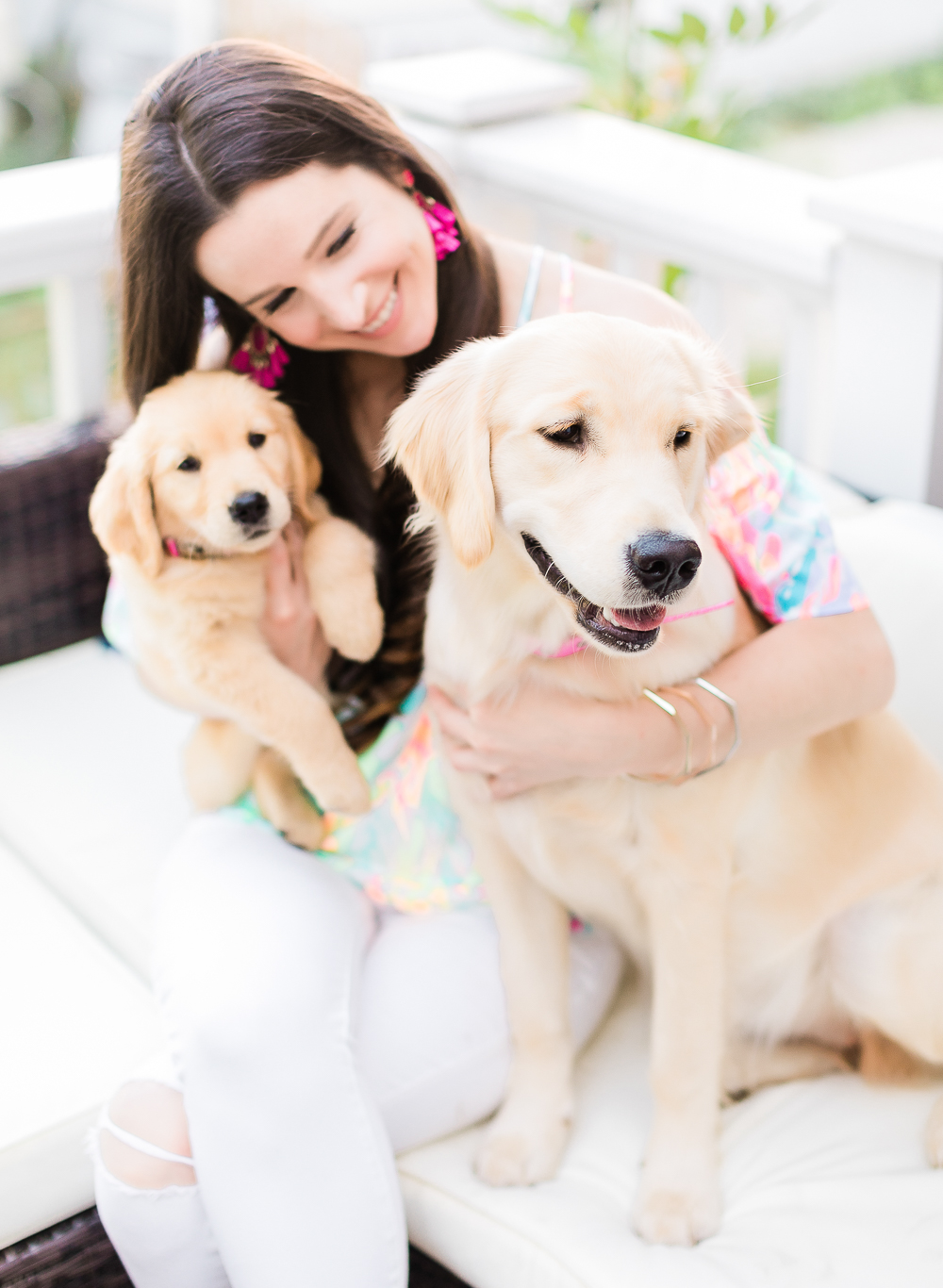 Bringing a Puppy Home Checklist, Puppy Proofing Your Home Checklist, Clear the Shelters Day information, Clear the Shelters: How to Prepare for a New Puppy by southern blogger and dog mom Stephanie Ziajka from Diary of a Debutante, Golden retriever puppies
