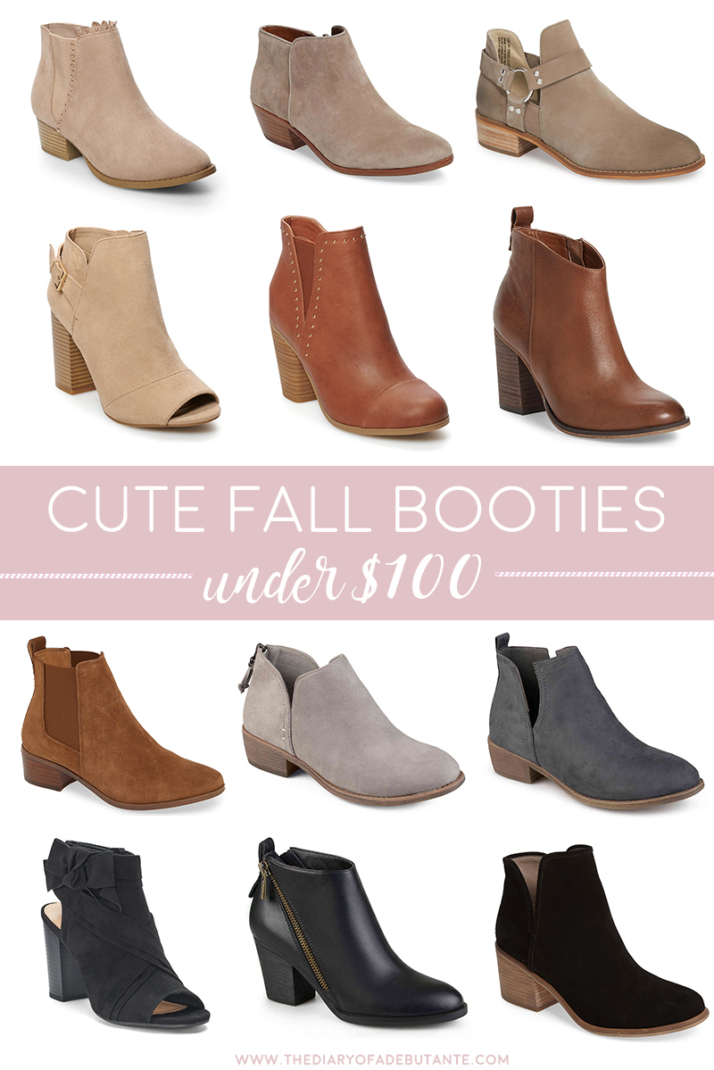 Cute Fall Booties under 100 by affordable style blogger Stephanie Ziajka from Diary of a Debutante, affordable booties for fall, cute booties for fall, affordable fall booties, best booties under 100, best fall booties