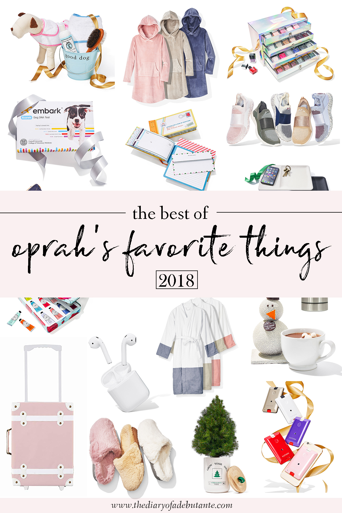 The Best of Oprah's Favorite Things 2018 by affordable fashion and southern lifestyle blogger Stephanie Ziajka from Diary of a Debutante, Oprah's Favorite Things gift guide, genius gift ideas from Oprah's Favorite Things list 2018