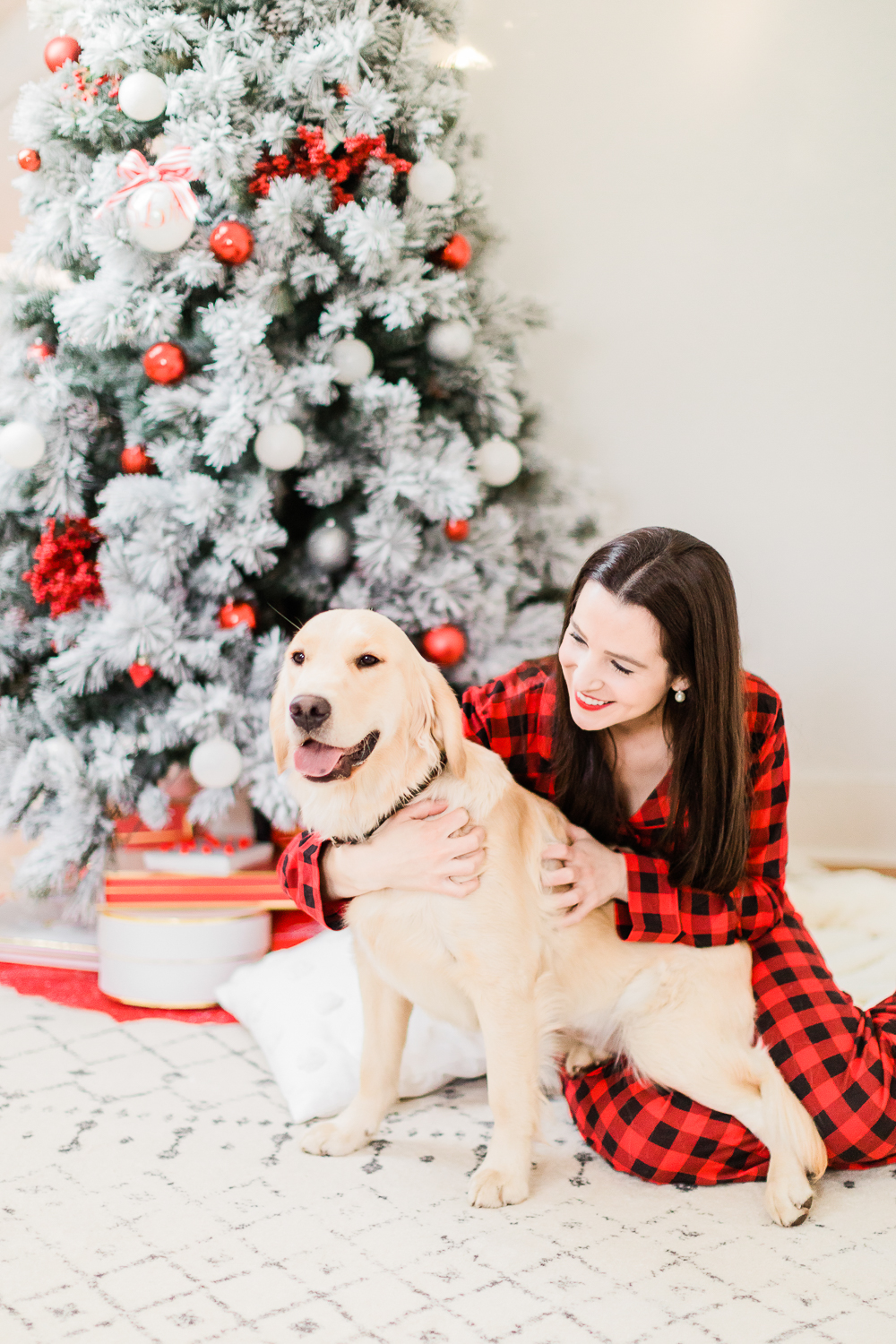 A Golden Retriever Christmas: Happy Holidays from Our Furry Family to Yours by southern lifestyle blogger and golden retriever dog mom Stephanie Ziajka from Diary of a Debutante