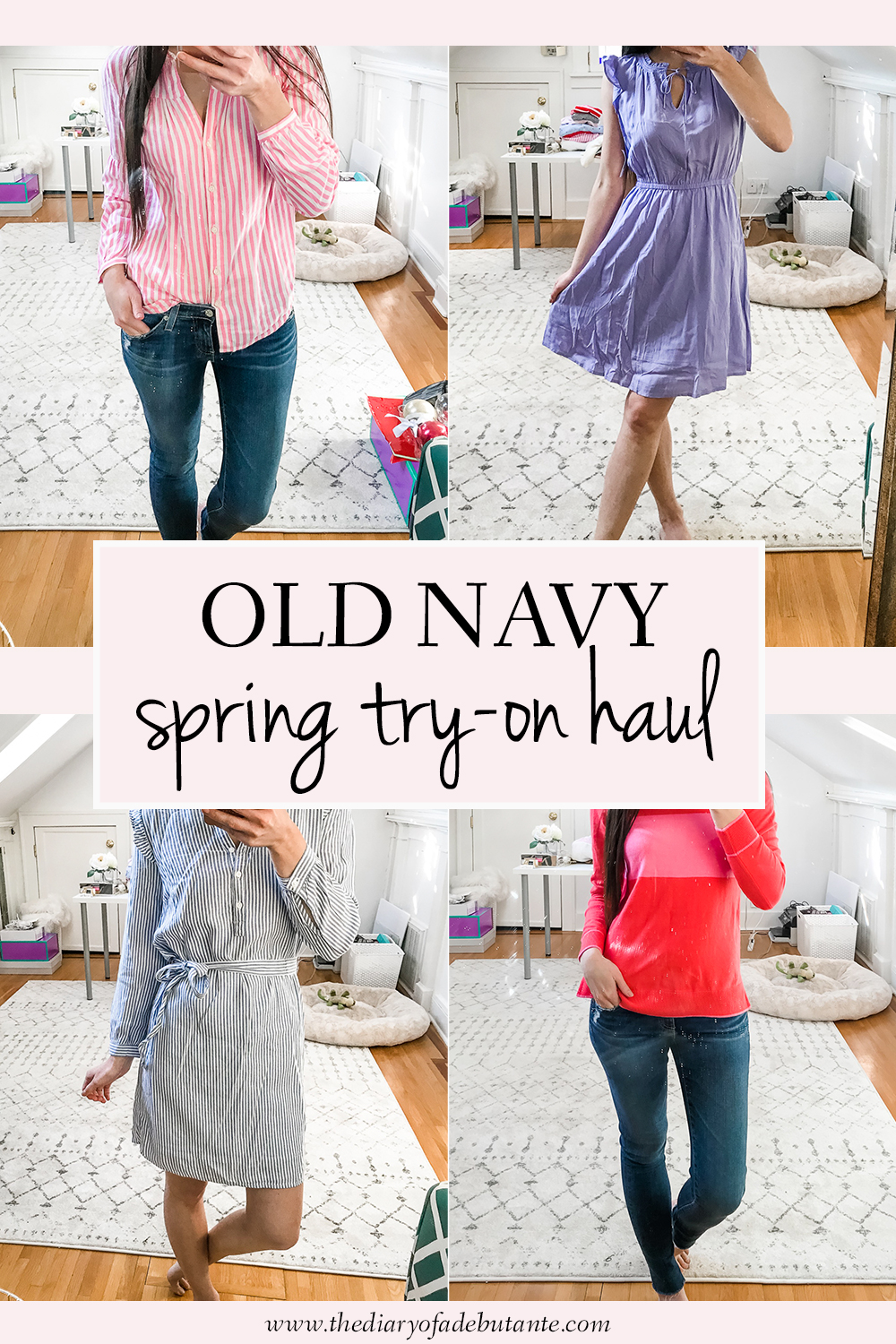 Old Navy Try-On Haul: Best of Spring 2019 by Stephanie Ziajka from the popular affordable fashion blog Diary of a Debutante, Old Navy Spring 2019 Try-On Haul, Spring Try-On Haul