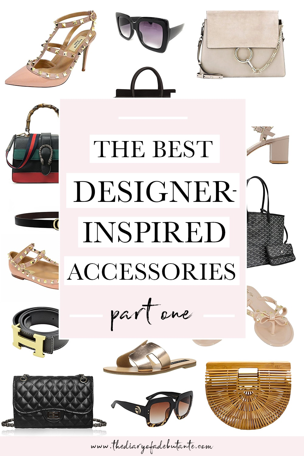 The best designer dupes on Amazon (including the best designer bag dupes, designer shoes dupes, and more) curated by affordable fashion blogger Stephanie Ziajka on Diary of a Debutante