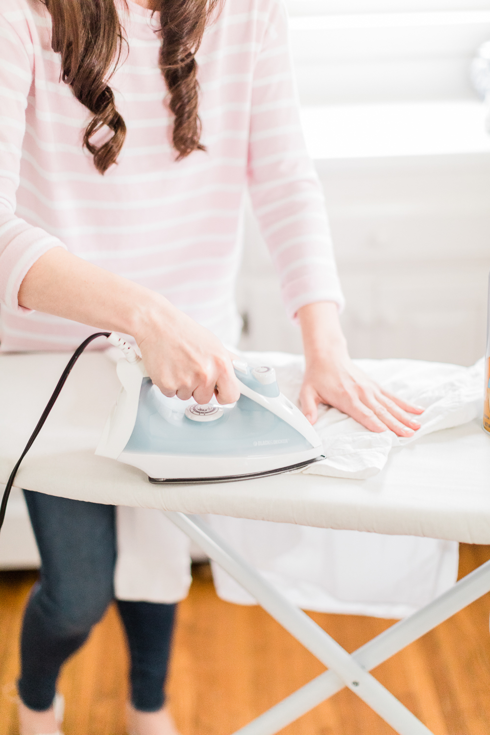 how to use starch spray, how to use spray starch ironing, how to iron with starch spray, how does spray starch work, Niagara Faultless Premium Starch spray uses, How to Use Starch Spray + 5 Must-Know Budget-Friendly Clothing Hacks by affordable fashion blogger Stephanie Ziajka from Diary of a Debutante