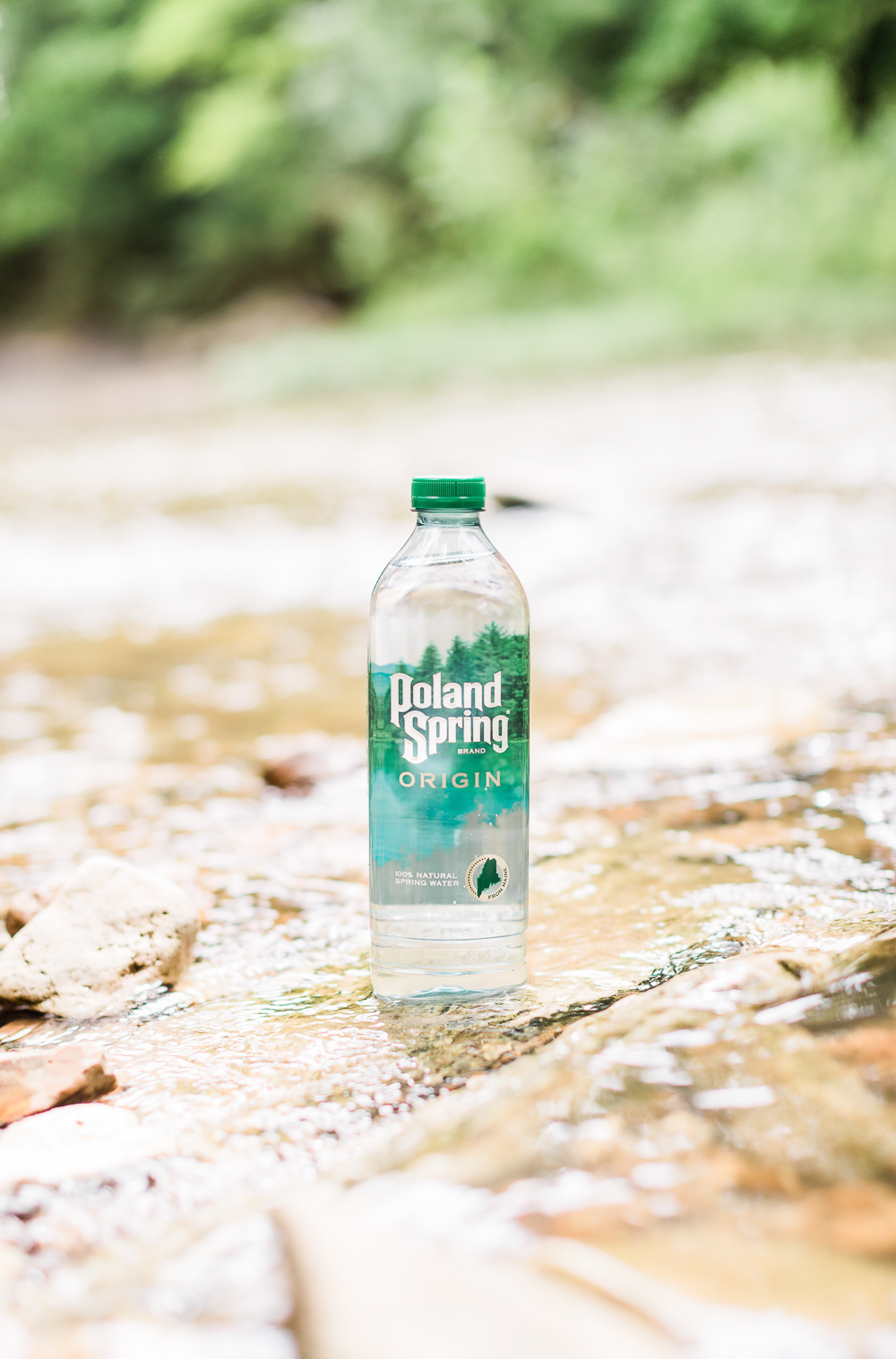 Poland Spring Origin Natural Spring Water at Walmart, Summer Adventuring: How to Plan the Perfect Hiking Picnic by popular midwest blogger Stephanie Ziajka from Diary of a Debutante, Columbia MO hiking