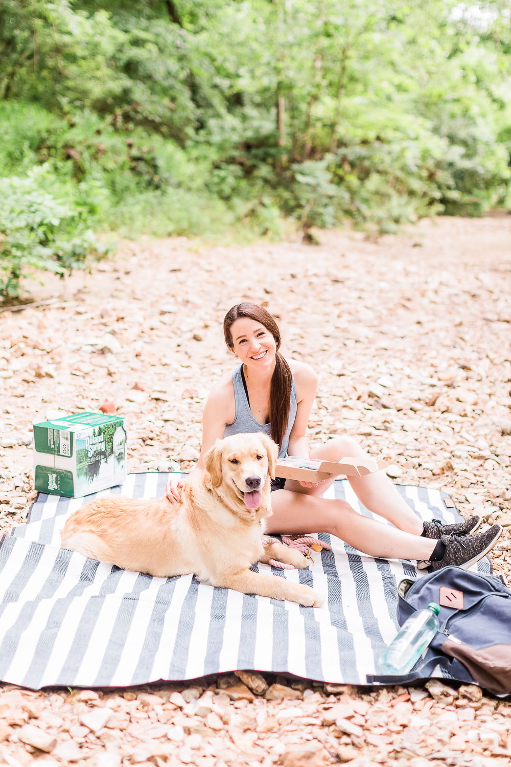Summer Adventuring: How to Plan the Perfect Hiking Picnic by popular midwest blogger Stephanie Ziajka from Diary of a Debutante, Columbia MO hiking