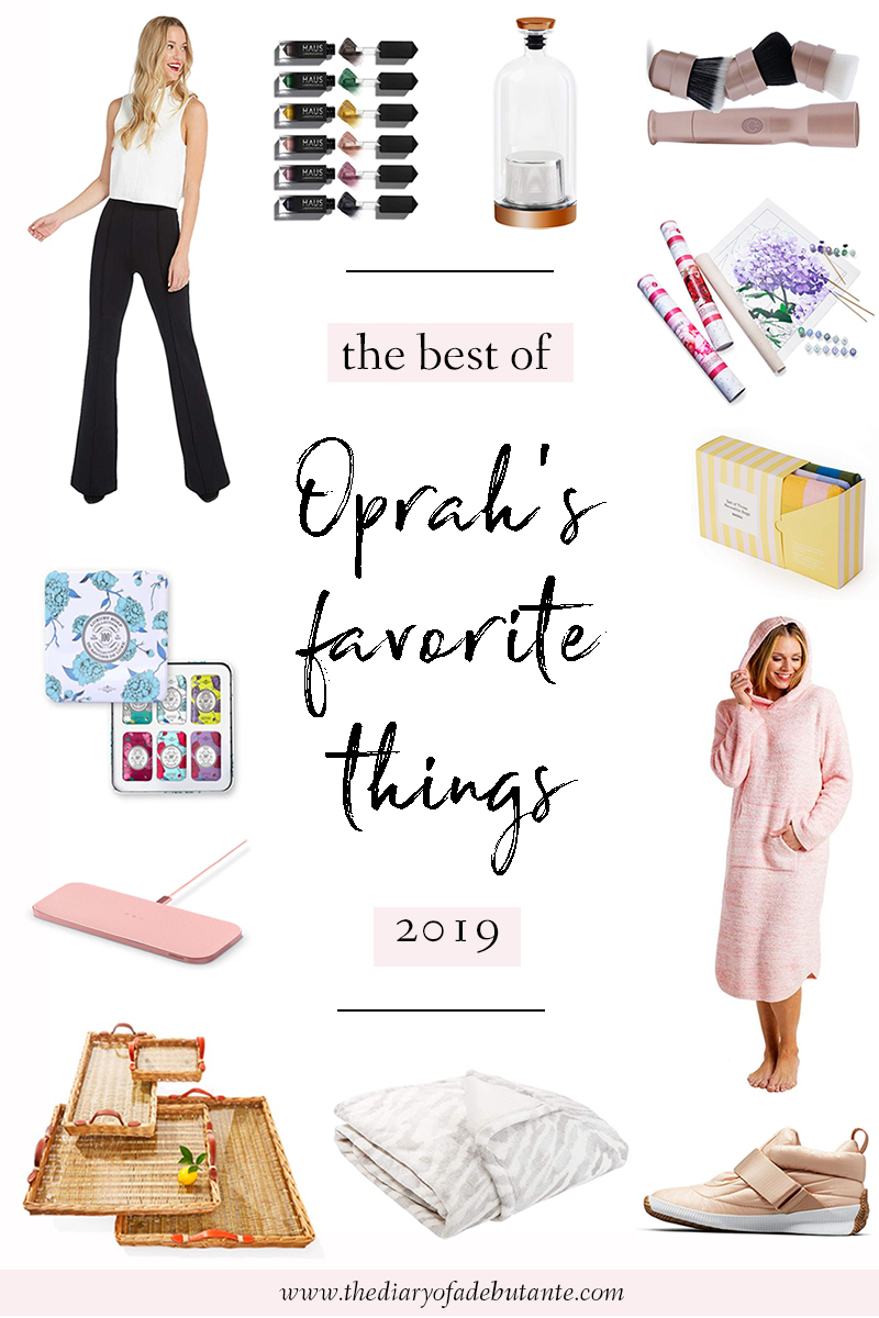 The Best of Oprah's Favorite Things 2019 by popular affordable fashion blogger Stephanie Ziajka on Diary of a Debutante