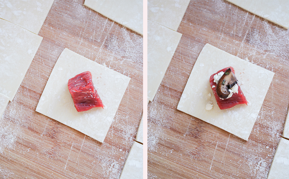 how to make beef wellington bites, easy beef appetizer recipe, premium beef appetizer, blogger Stephanie Ziajka, Diary of a Debutante blog