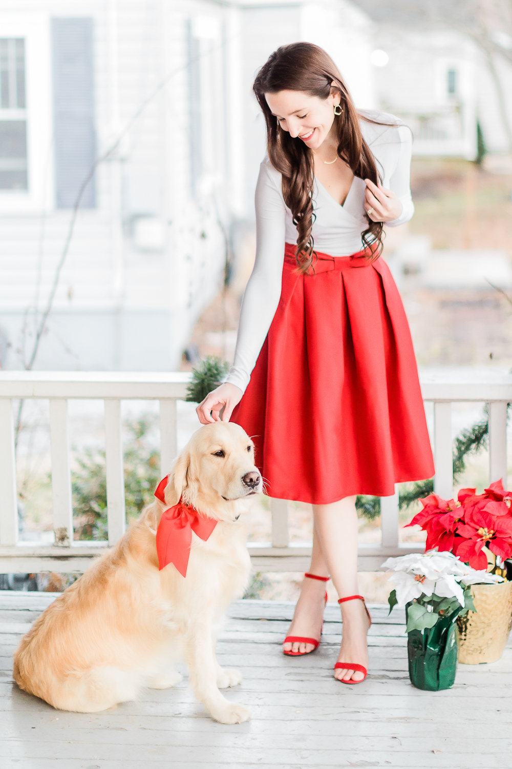 Affordable fashion blogger Stephanie Ziajka shares her favorite preppy Christmas party outfits on Diary of a Debutante