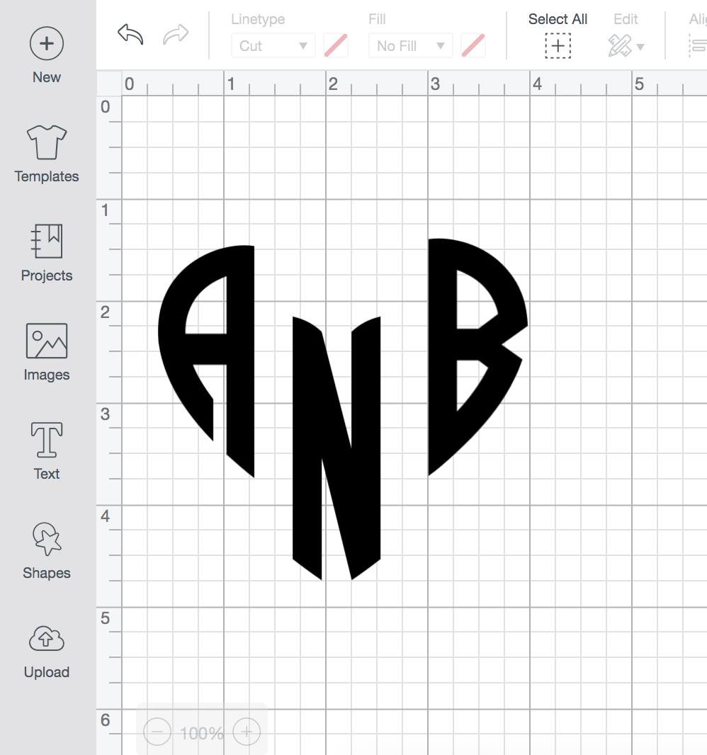 Popular DIY blogger Stephanie Ziajka of Diary of a Debutante shares how to design your own monogram in Cricut Design Space