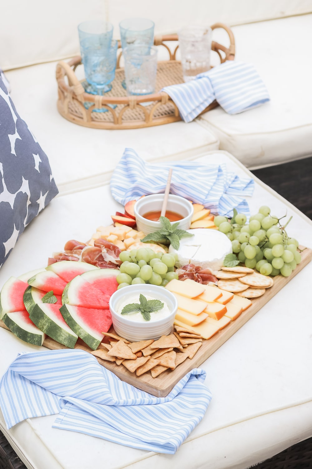 Easy charcuterie tips for summer from blogger Stephanie Ziajka on Diary of a Debutante