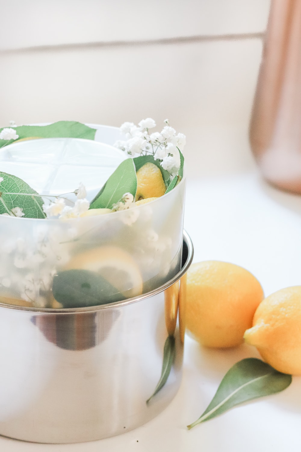 Entertaining blogger Stephanie Ziajka shows how to make your own frozen bottle chiller for summer on Diary of a Debutante