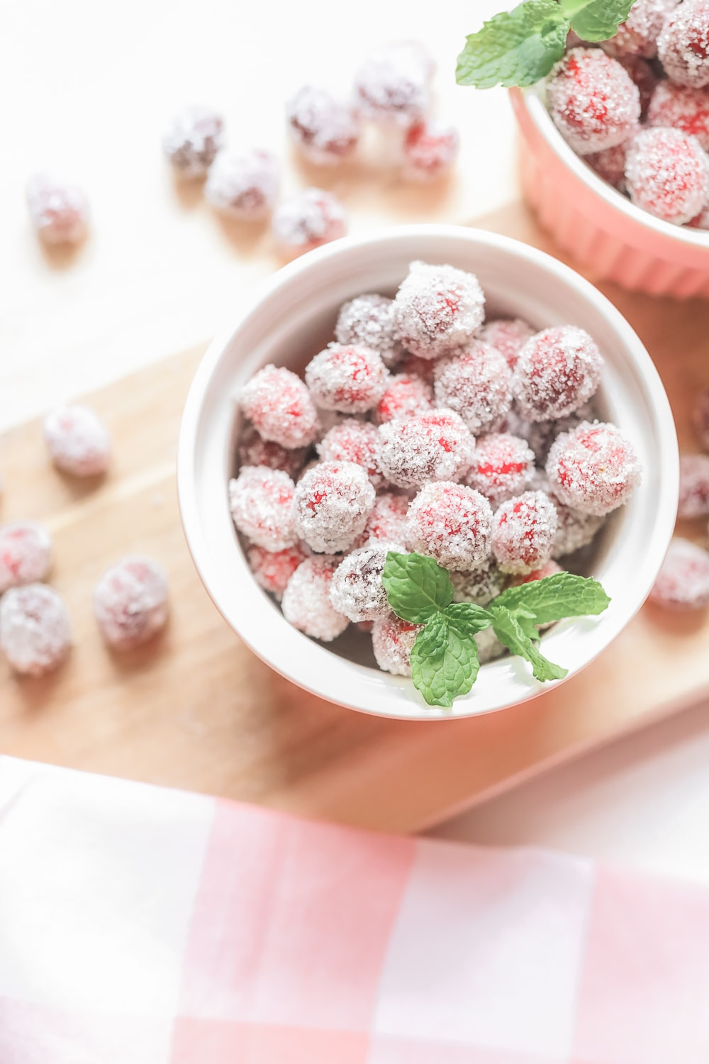 Sugared cranberries recipe by blogger Stephanie Ziajka on Diary of a Debutante