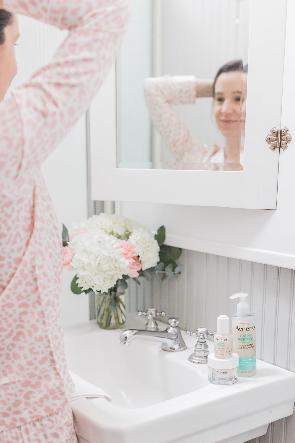 Blogger Stephanie Ziajka shares her winter daily skin care routine on Diary of a Debutante