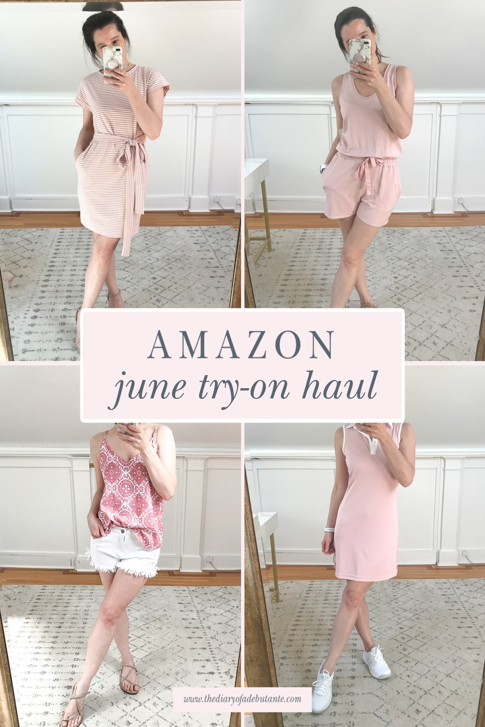Affordable fashion blogger Stephanie Ziajka shares a June Amazon Fashion Haul for 2021 on Diary of a Debutante